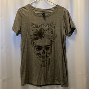 Rose and Skull T-Shirt